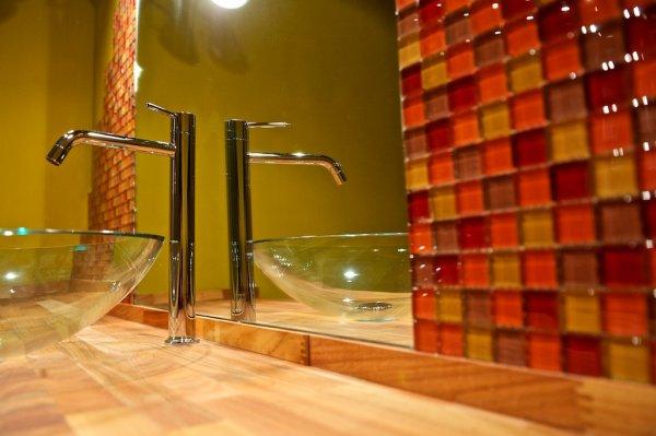 Meubles de salles de bains en bois à peindre
