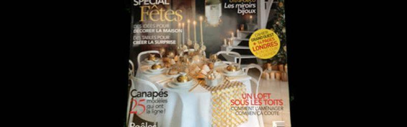 """Villa Courtois dans """"Art & Décoration"""" - Nov/Déc 2013"""