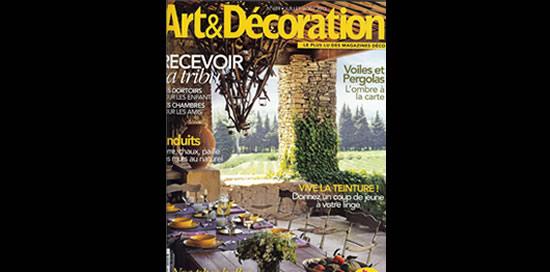 Les peintures Malouinières dans le magazine Art et Décoration