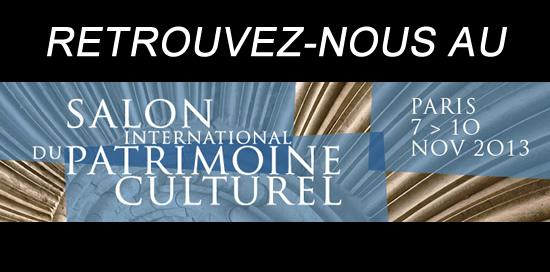 Les peintures Malouinières au Salon du Patrimoine à Paris
