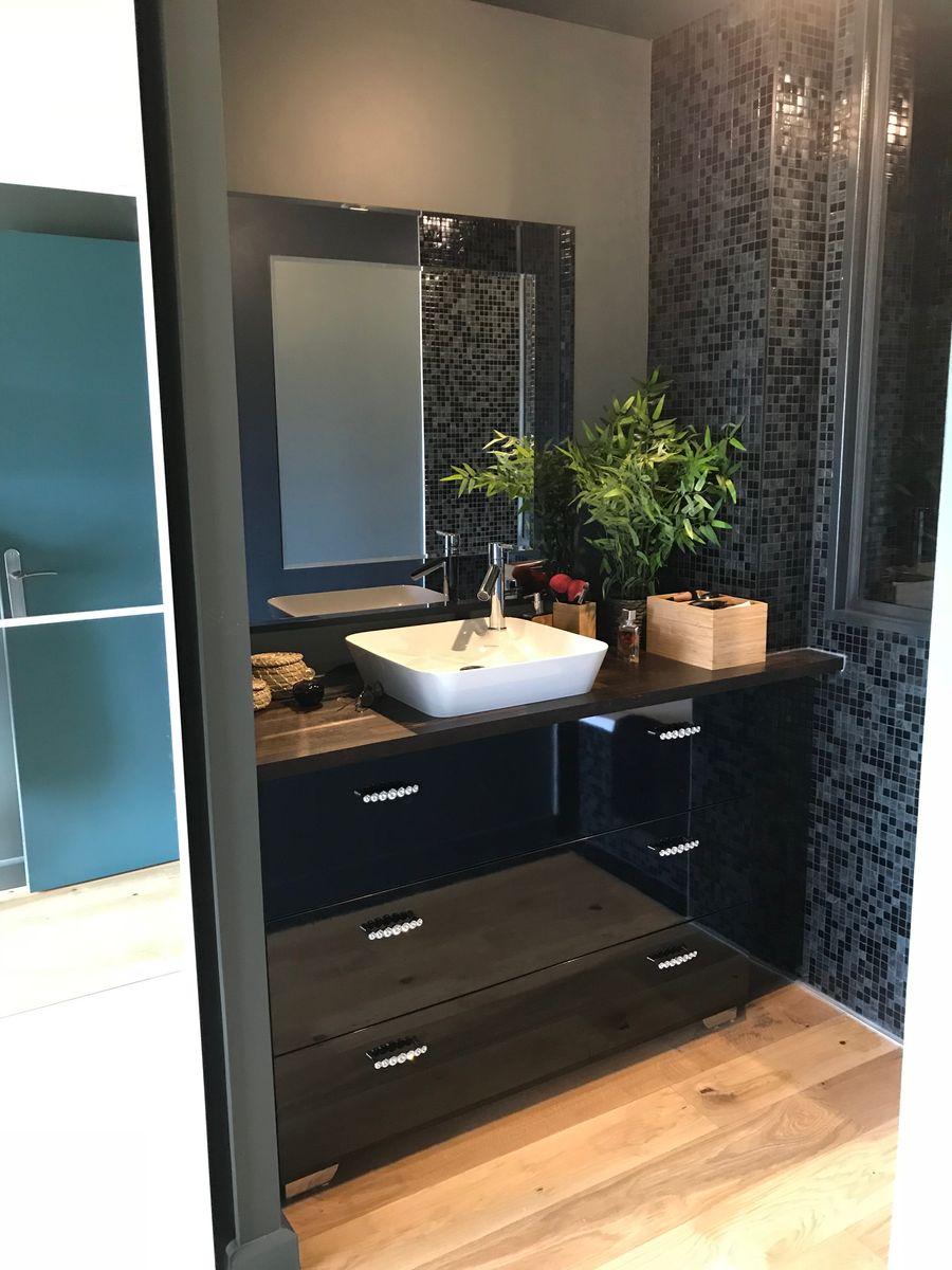"""Meubles de salle de bain """"Villa Courtois"""" - Saint-Malo"""