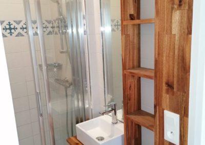 Meuble de salle de bain sur mesure par Villa Courtois à St-Malo