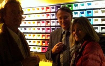 Présentation de la gamme huile de lin aux architectes de Saint-Malo