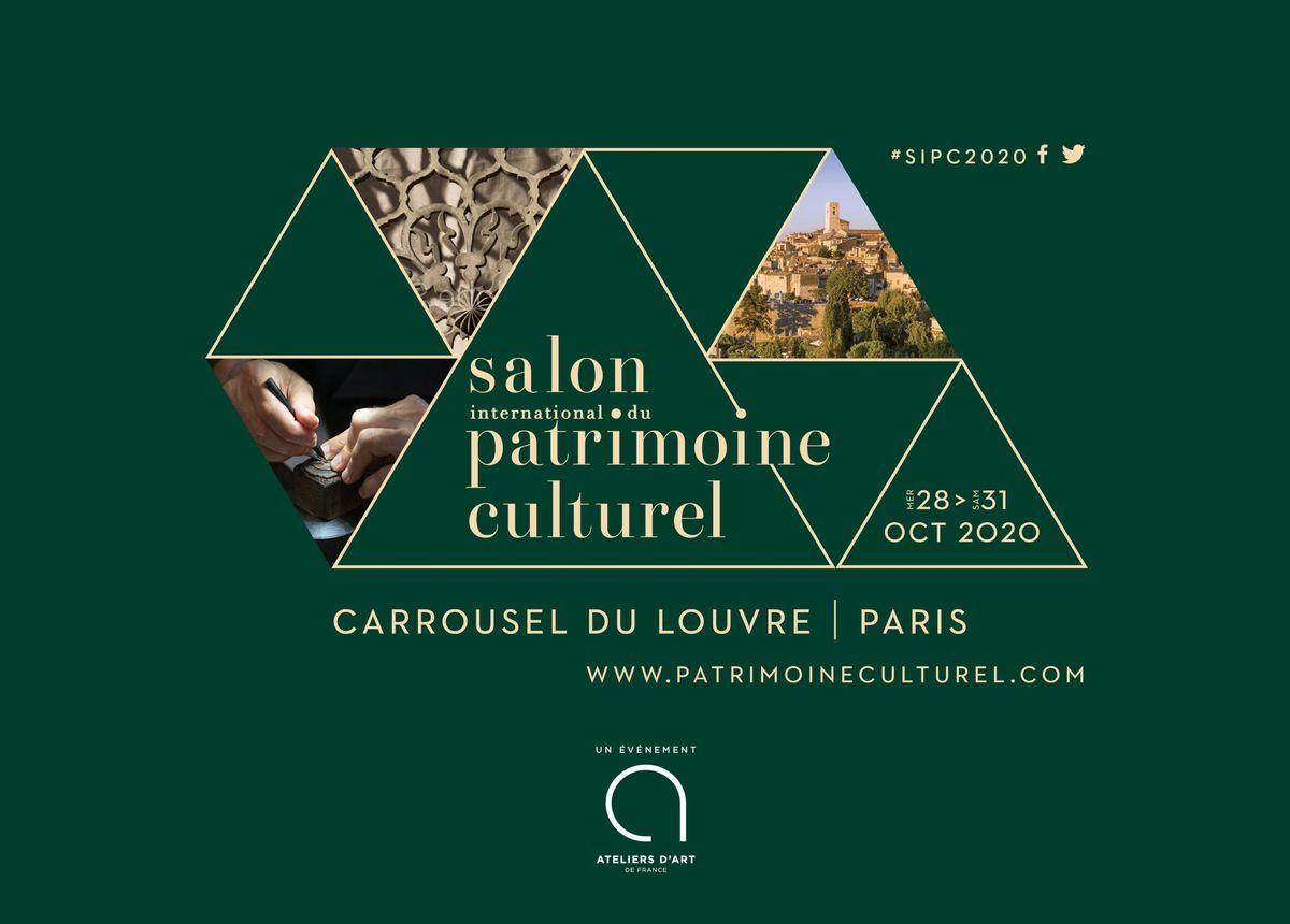 Salon du Patrimoine Culturel octobre 2020