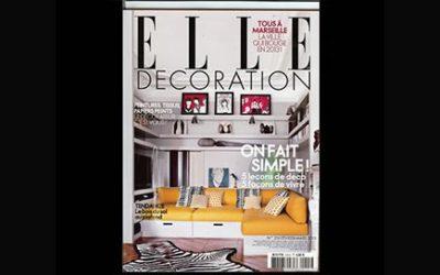 Villa Courtois dans le magazine «Elle»