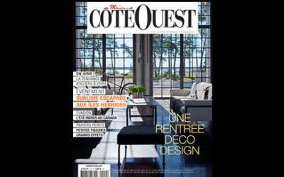 Villa Courtois dans le magazine Côté Ouest